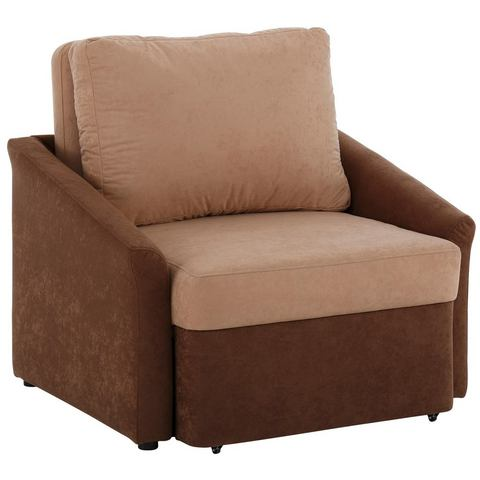 HOME AFFAIRE fauteuil Sleepy, met slaapfunctie en boxspringvering