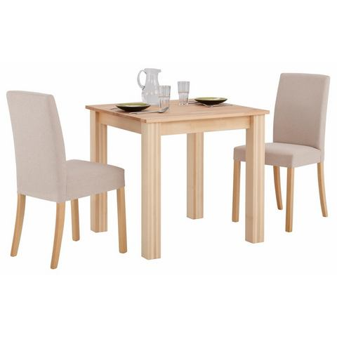 Eetkamerstoelen HOME AFFAIRE eethoek (3-dlg) 102147