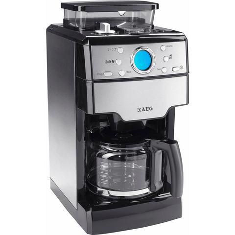 AEG koffiezetapparaat KAM 300, edelstaal / zwart