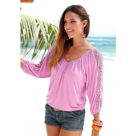 NU 20% KORTING: LASCANA strandshirt