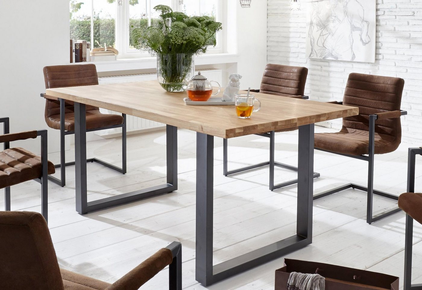 HOME AFFAIRE eettafel Miami Beach, in 2 afmetingen