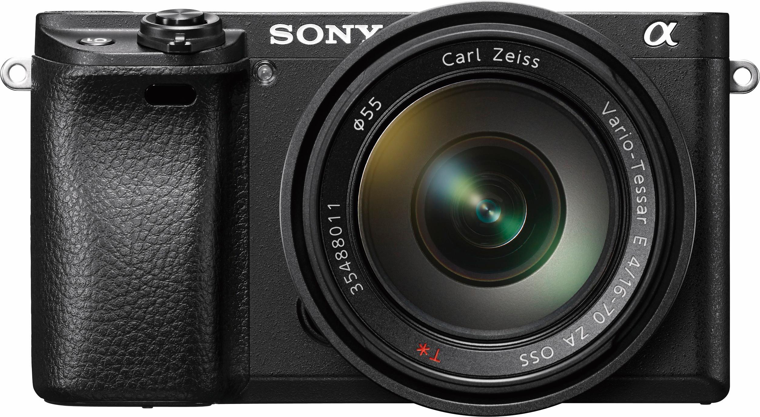 SONY Alpha ILCE-6300Z camera met objectief - verschillende betaalmethodes