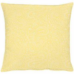 kussen, apelt, »7907 uni paisley« per stuk geel