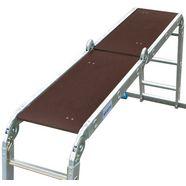 krause ladder met scharnier zilver