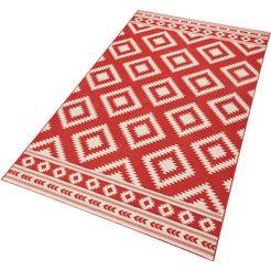 vloerkleed, hanse home, »etno«, geweven rood