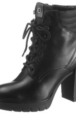 tamaris veterlaarsjes »cassiel« zwart
