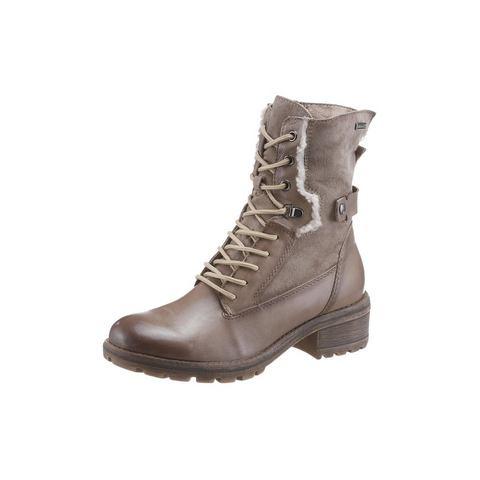 Dames schoen: TAMARIS hoge veterschoenen