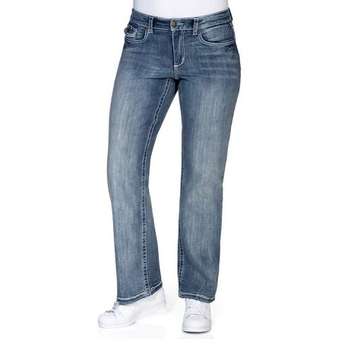 NU 20% KORTING: SHEEGO DENIM Jeans Wijd