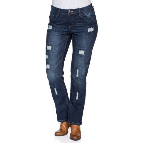 SHEEGO DENIM Jeans in recht model