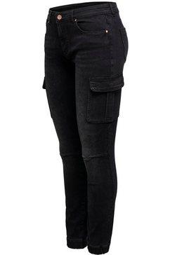 only cargo jeans »onlmissouri« zwart