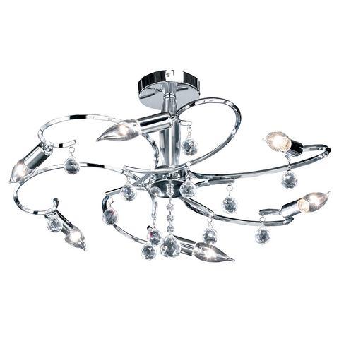 HONSEL LEUCHTEN plafondlamp, 6 fittingen, »Sala«