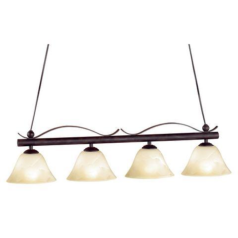 HONSEL LEUCHTEN hanglamp, met 4 fittingen, Koloniaal