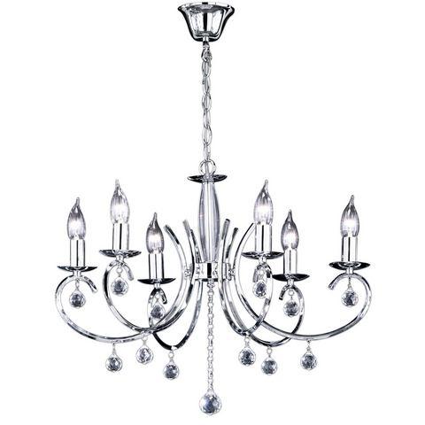 HONSEL LEUCHTEN hanglamp, 6 fittingen, »Sala«