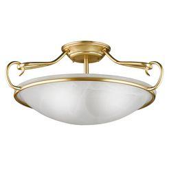 honsel leuchten plafondlamp, 3 fittingen, »como« goud