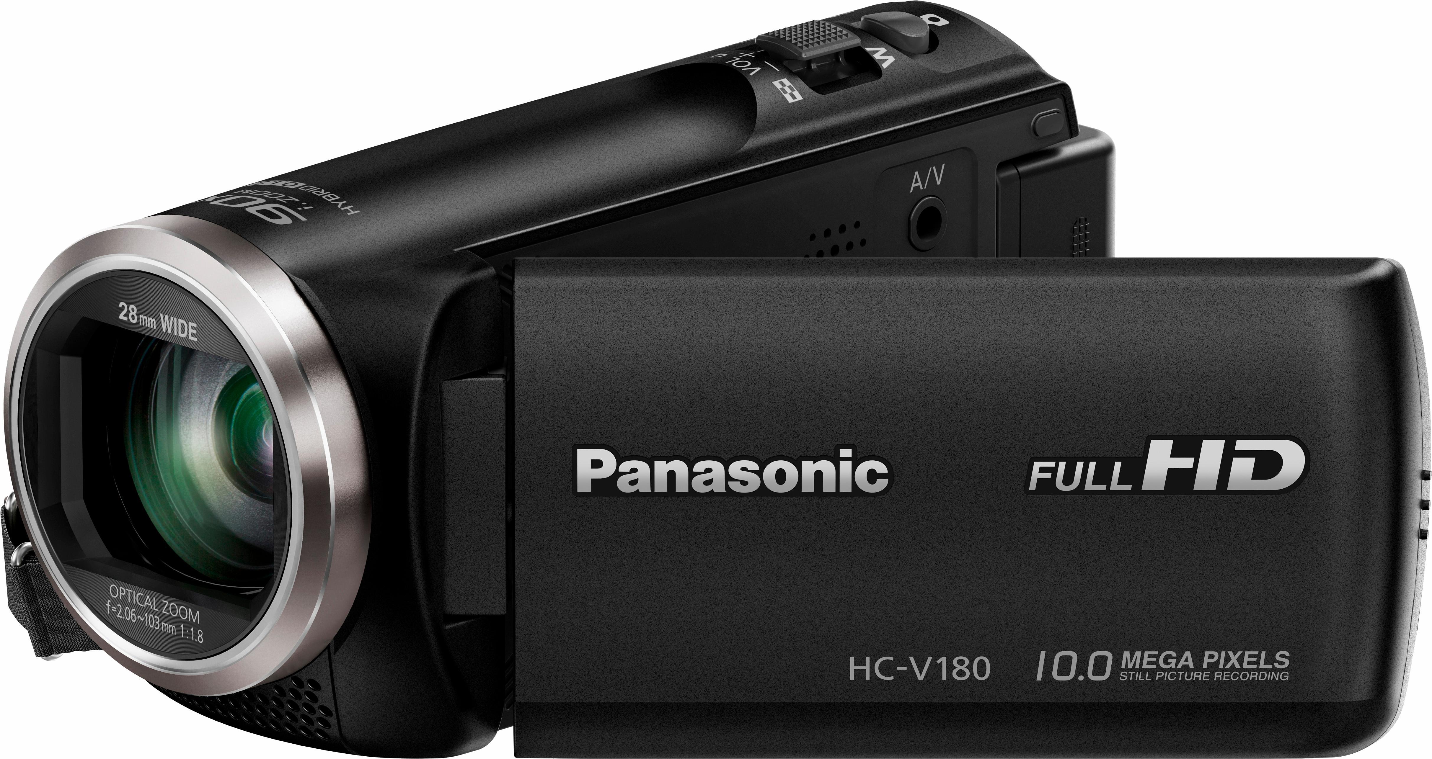 Panasonic HC-V180EG-K 1080p (Full HD) camcorder nu online bestellen