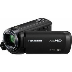 panasonic hc-v380eg-k 1080p (full hd) camcorder, wlan zwart