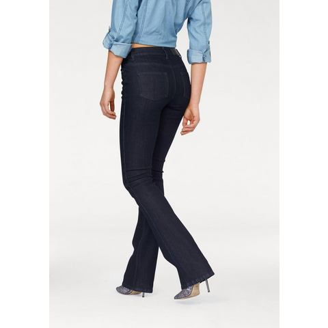 ARIZONA Bootcut-jeans in five-pocketsstijl