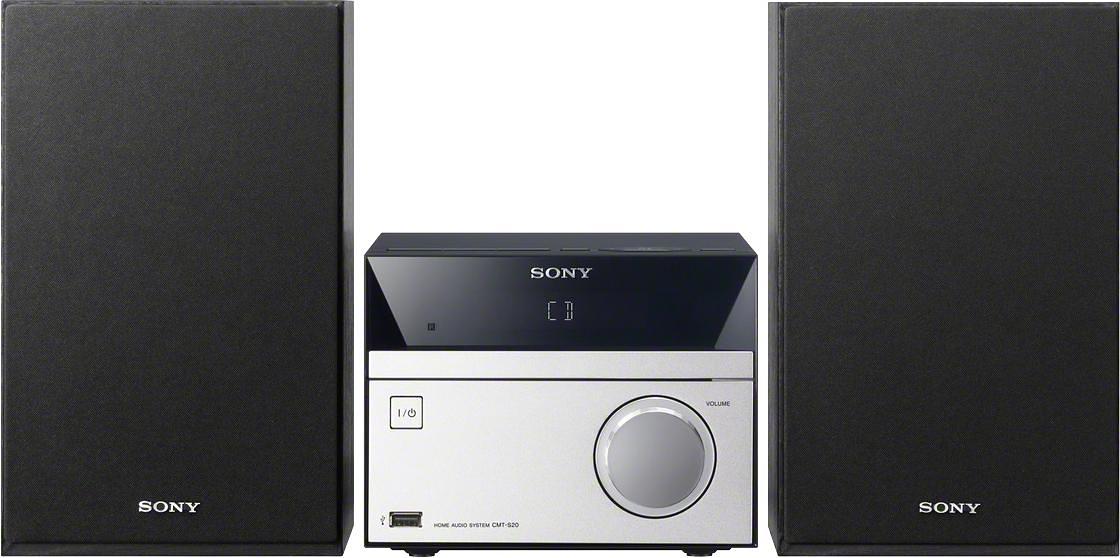 SONY CMT-SBT20B micro-hifi-set, Bluetooth, NFC, digitale radio (DAB+), RDS, 1x USB veilig op otto.nl kopen