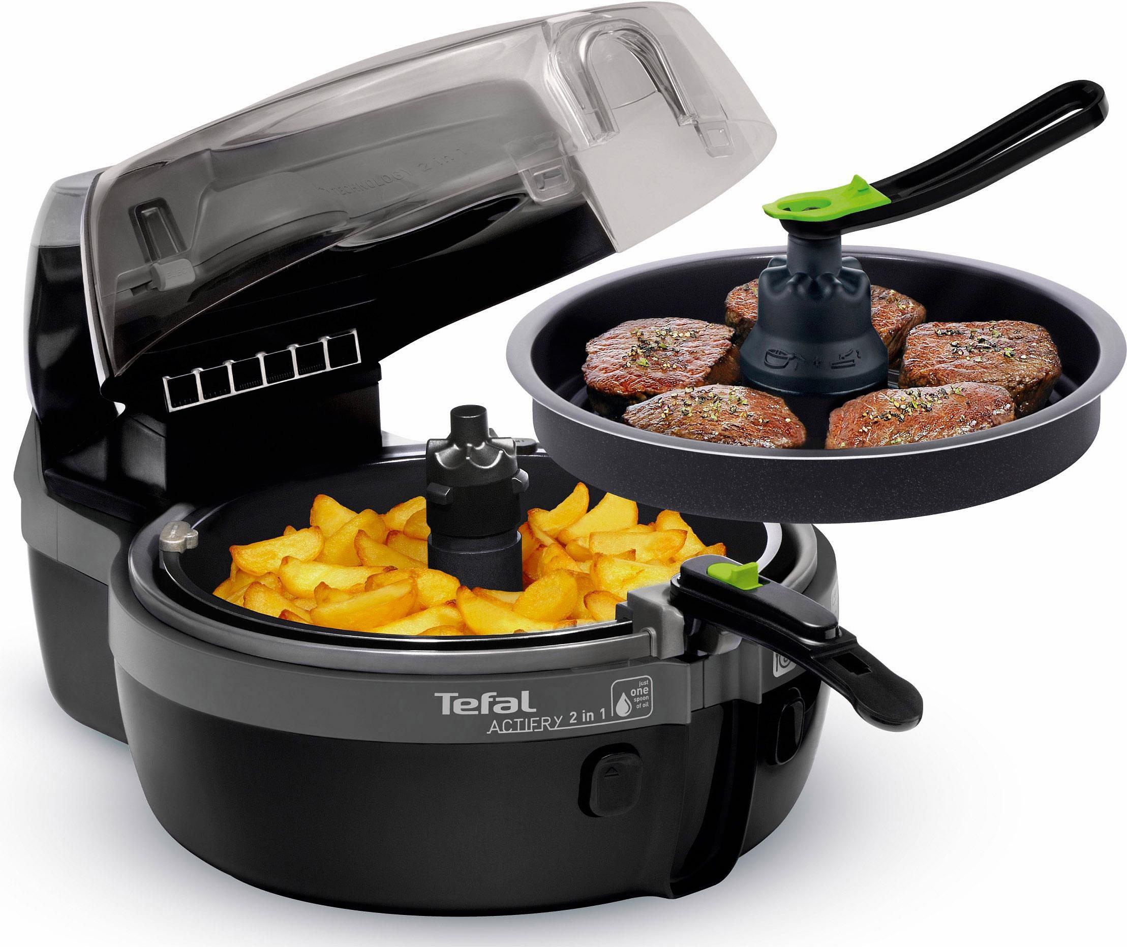 Tefal Hetelucht-friteuse YV9601 ActiFry 2-in-1 nu online kopen bij OTTO