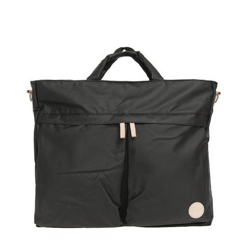 Enter waterafstotende schoudertas, Helmet Tote Bag, black/natural