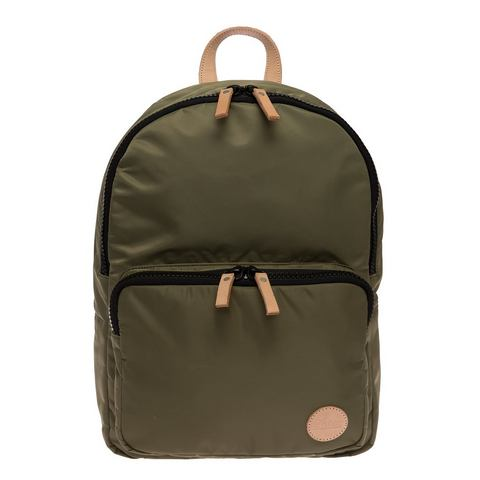 Enter streetstyle-rugzak, Gym Backpack, army green/natural