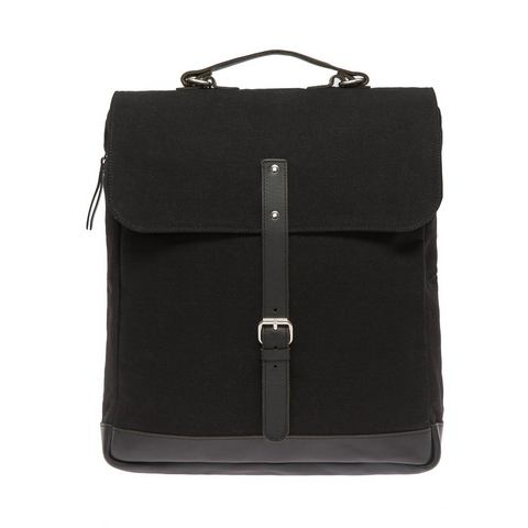 Enter messenger-rugzak, Messenger Backpack, black