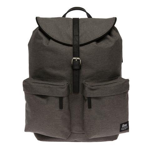 Enter rugzak met rijgkoord, Hiker Backpack, melange black