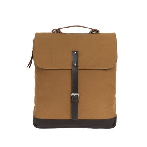 Enter messenger-rugzak, Messenger Backpack, kaki/dark brown