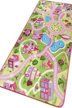 Kindervloerkleed, »Sweettown«, straat, getuft