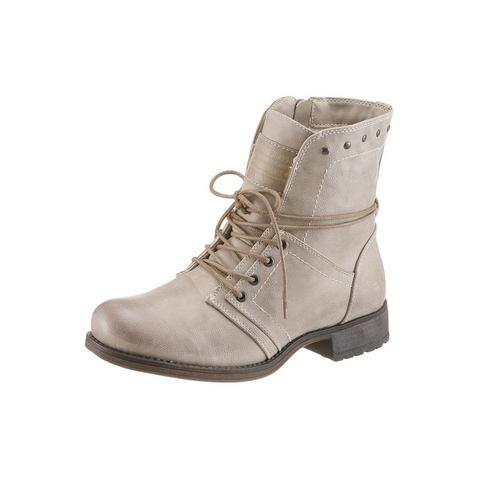 Schoen: MUSTANG SHOES hoge veterschoenen