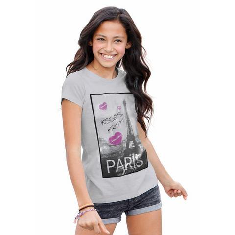 ARIZONA lang shirt met fotoprint, voor meisjes