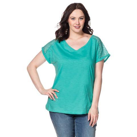 NU 20% KORTING: SHEEGO CASUAL T-shirt van jerseymateriaal