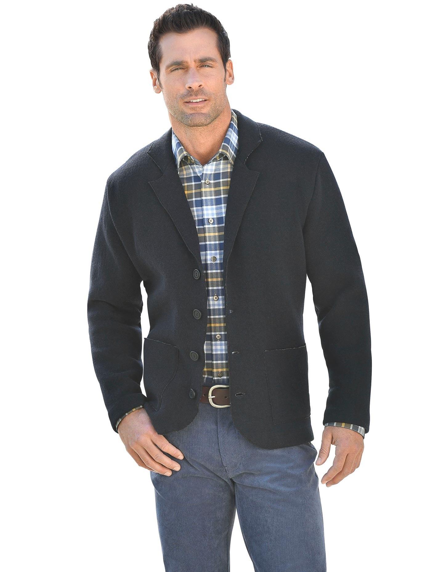 Marco Donati vest met een afgeronde zoom voordelig en veilig online kopen