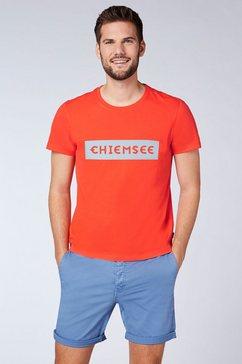 chiemsee t-shirt rood