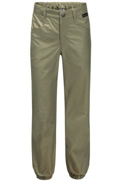 jack wolfskin functionele broek »lakeside pants kids« beige