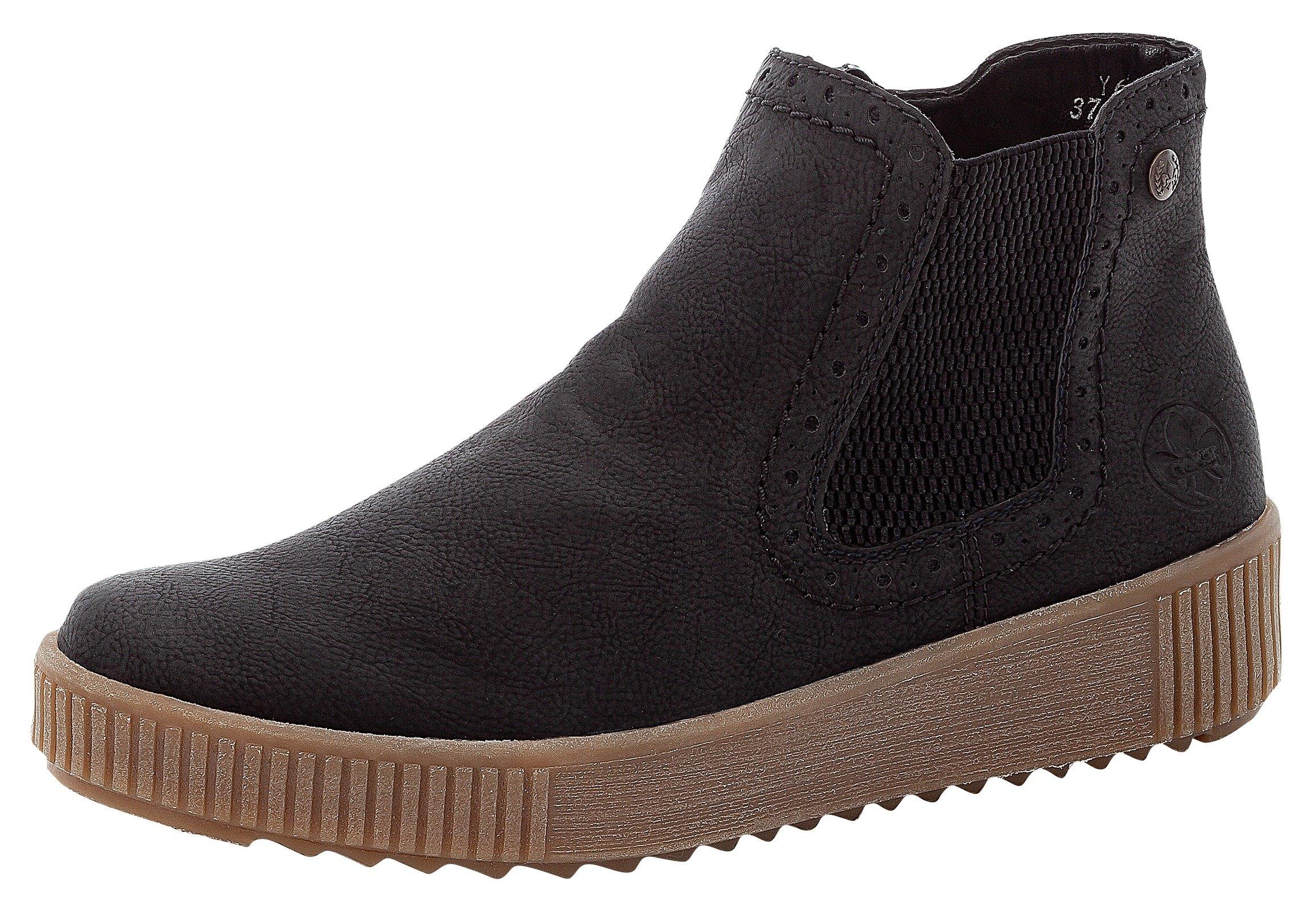 Rieker Chelsea-boots met praktische stretchinzet - gratis ruilen op otto.nl
