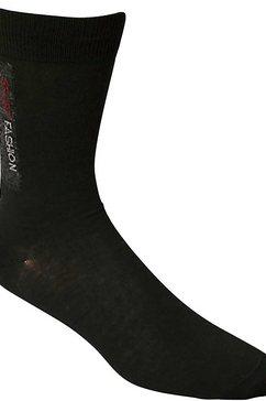 vrijetijdssokken »29170 nordpol socke sport-fashion schwarz« zwart