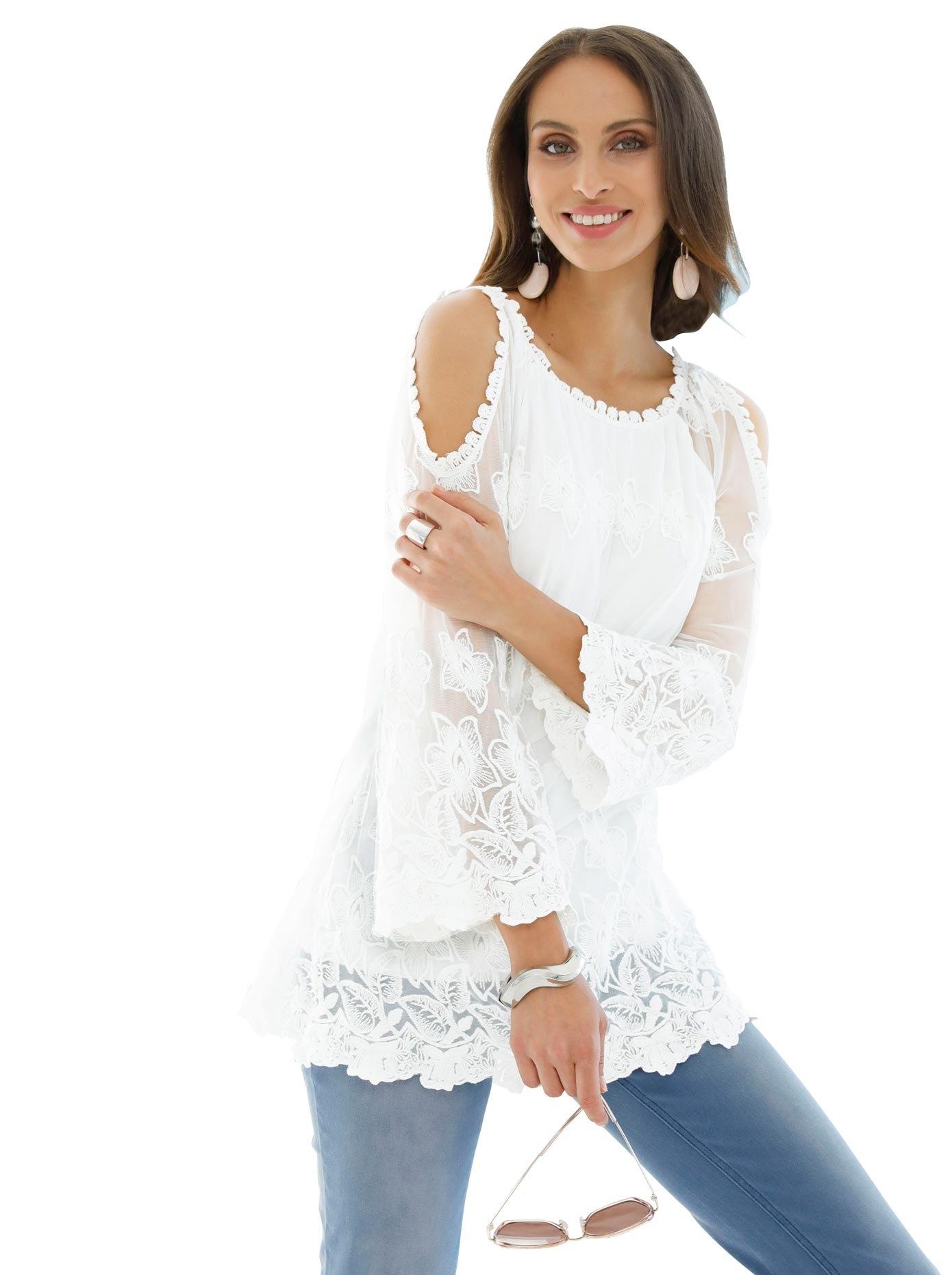 Lady kanten blouse nu online kopen bij OTTO