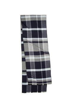 seidensticker zijden sjaal »schwarze rose« grijs