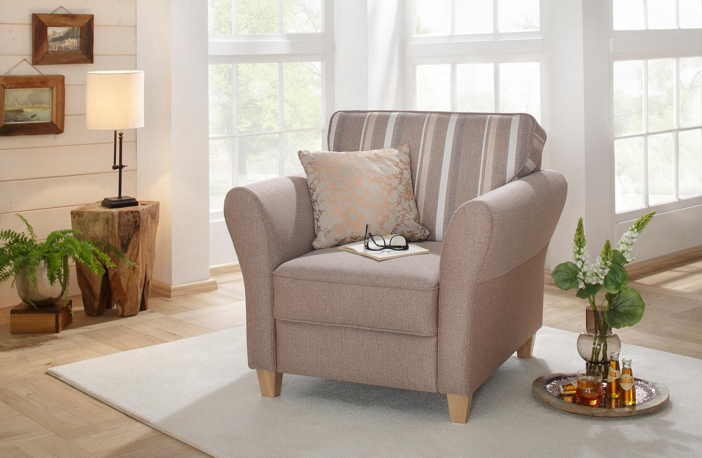 HOME AFFAIRE fauteuil Baltrum