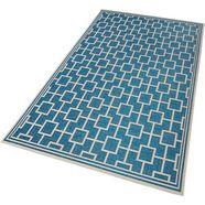 vloerkleed, bougari, »bay«, geschikt voor binnen en buiten, geweven blauw