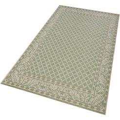 vloerkleed, bougari, »royal«, geschikt voor binnen en buiten, geweven groen