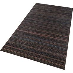 vloerkleed, bougari, »lotus«, geschikt voor binnen en buiten, geweven bruin