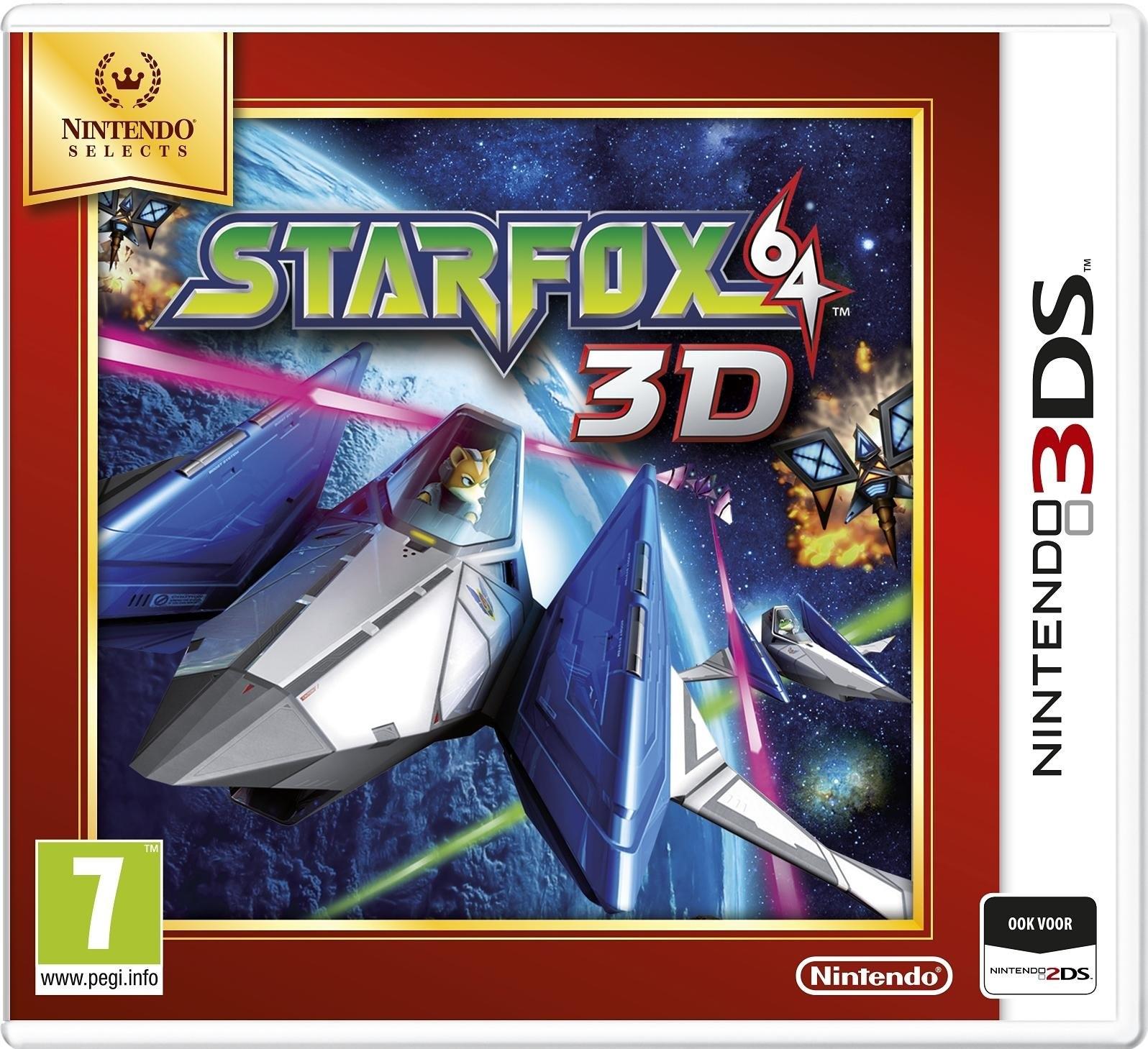 NINTENDO 3DS, StarFox 64 3D (Select) goedkoop op otto.nl kopen