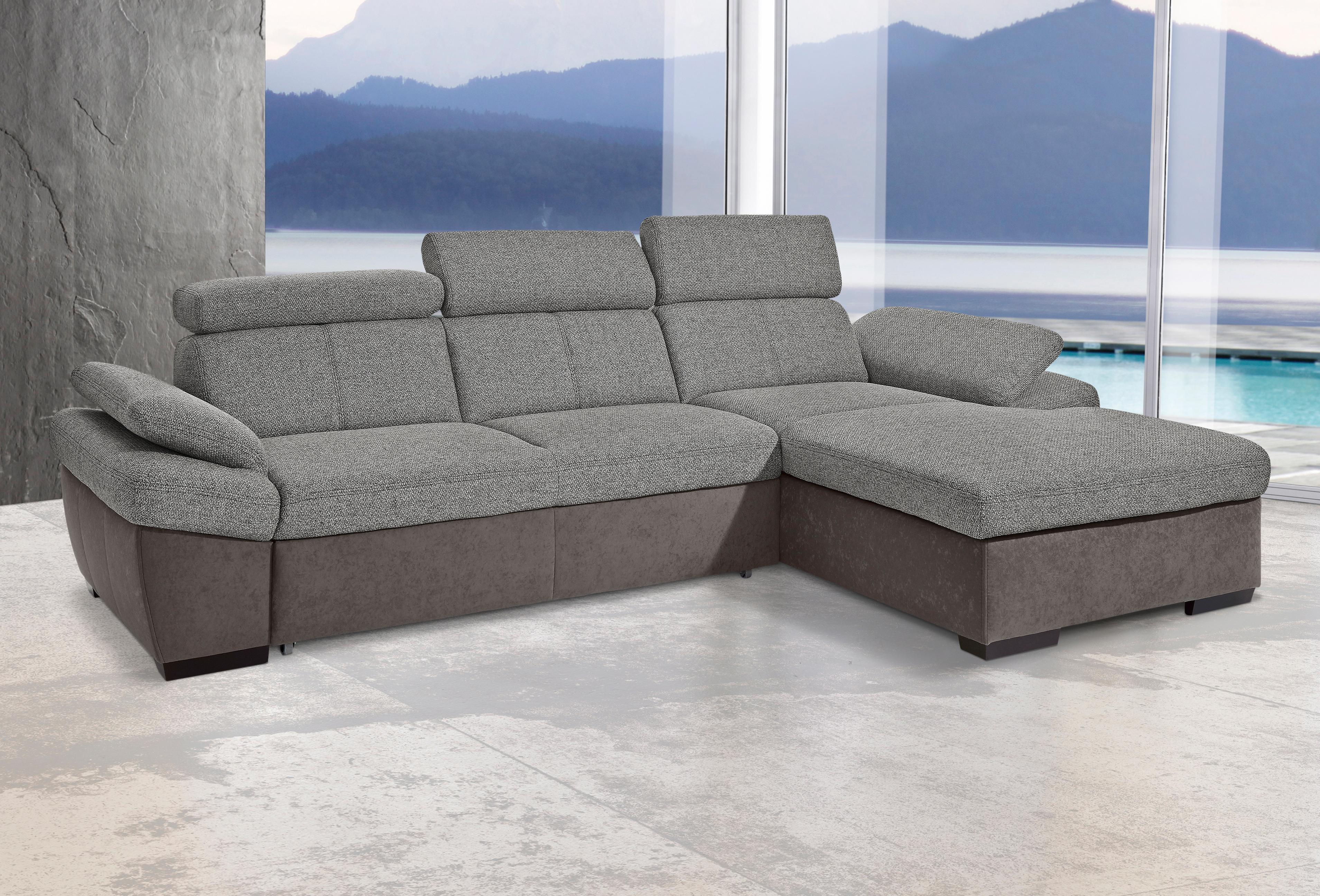 Exxpo - Sofa Fashion exxpo by Gala hoekbank met recamier, naar keuze met slaapfunctie nu online kopen bij OTTO