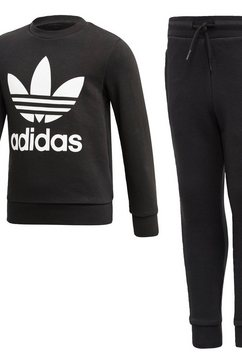 adidas originals joggingpak »crew set« zwart