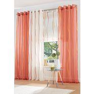 vouwgordijn, my home, »dimona«, met lussen (per stuk) oranje