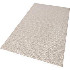 vloerkleed, bougari, »coin«, geschikt voor binnen en buiten, geweven grijs