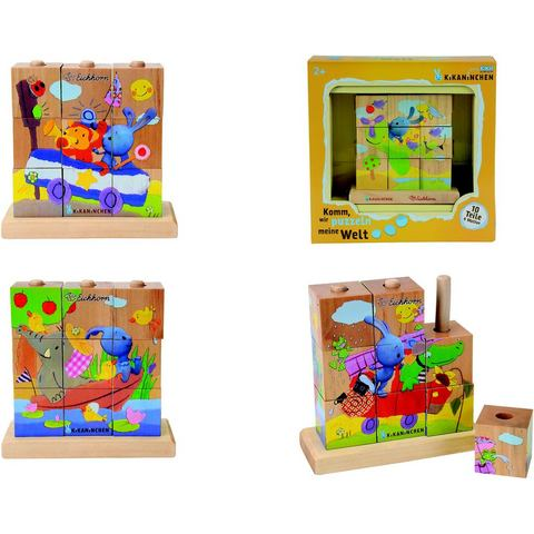 EICHHORN Blokpuzzel met 9 blokken