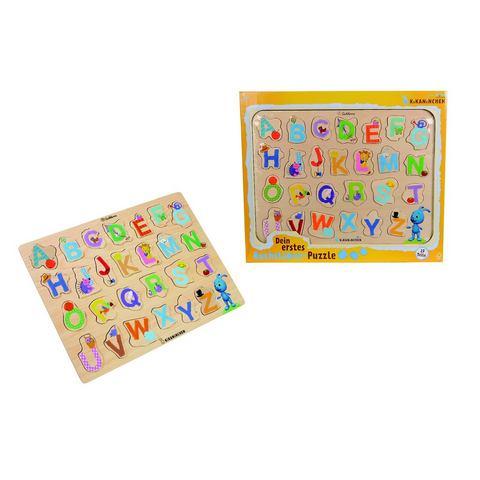 KIKANINCHEN Jouw eerste letter-puzzel